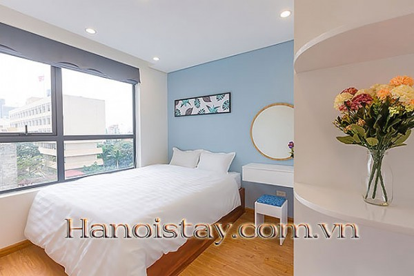 2BR Modern Apartment Rental in HongKong Tower❤Central Hanoi❤ High Level 5