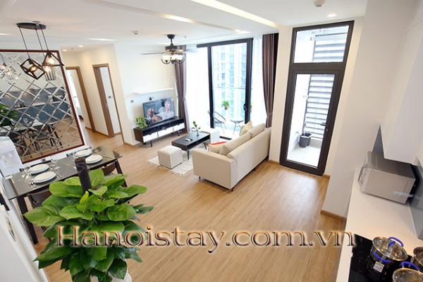 Airy,  Beautiful View Two Bedroom Apartment Rental in Vinhomes Metropolis, Nice Amenities 6