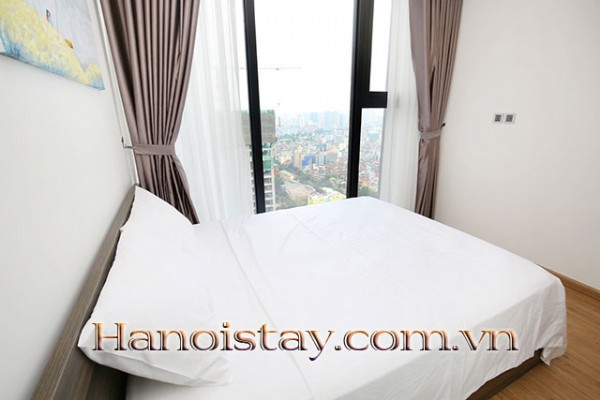 Airy,  Beautiful View Two Bedroom Apartment Rental in Vinhomes Metropolis, Nice Amenities 7