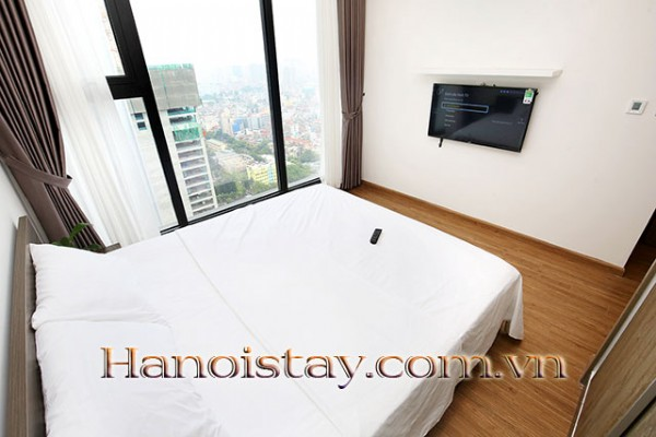 Airy,  Beautiful View Two Bedroom Apartment Rental in Vinhomes Metropolis, Nice Amenities 20