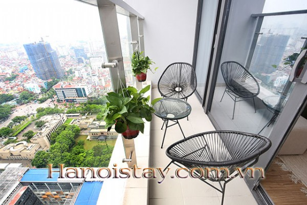Airy,  Beautiful View Two Bedroom Apartment Rental in Vinhomes Metropolis, Nice Amenities 21