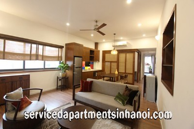 Brand New Two Bedroom Apartment Rental near Vincom Tower, Hai Ba Trung district