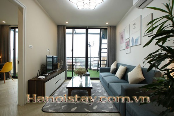 Central Apartment in To Ngoc Van, West Lake @ Peaceful Chill Balcony 12