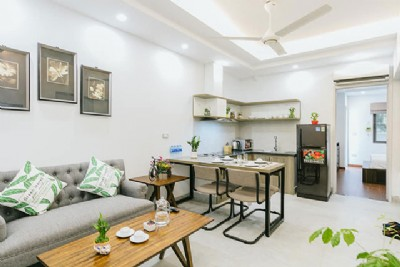 Fantastic Fully Equipped Apartment in Tay Ho | Modern Amenities @ 2 DOUBLE ROOMS