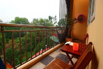 Nest Hanoi Home for rent ♥ | Romantic Balcony | Green View