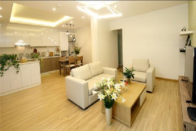 *New & Modern 2 bedroom Serviced Apartment For Rent near Westlake, Hanoi*